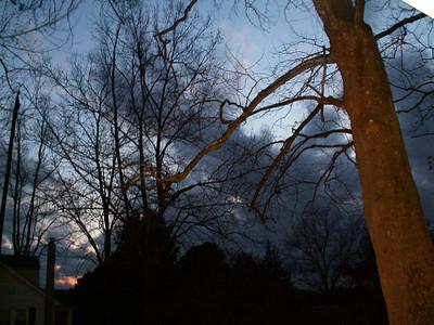 Winter Skys, Snow Blizzard of 2010