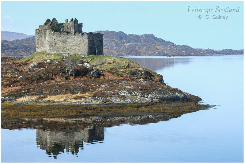 Castle Tioram, Loch Moidart (1)