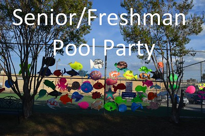 20150918 Senior/Freshman Pool Party