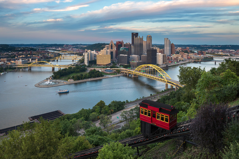 """The One With No Name"" - Pittsburgh, Mount Washington   Recommended Print sizes*:  4x6  