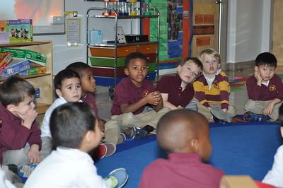 Pre-kindergarten mindfulness
