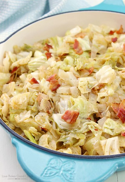 Southern Bacon-Fried Cabbage