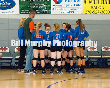 2015 Marshall County JV Volleyball vs. Graves County