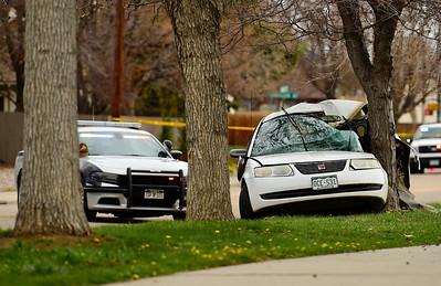 Photos: Stolen Vehicle Pursuit Leads to Fatal Crash in Longmont