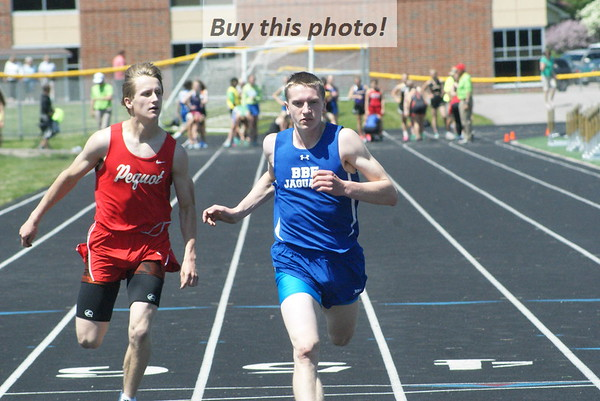 BBE track and field at Section 6A