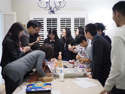 2017-12-15 IGSM Bible Study and Gingerbread House Competition
