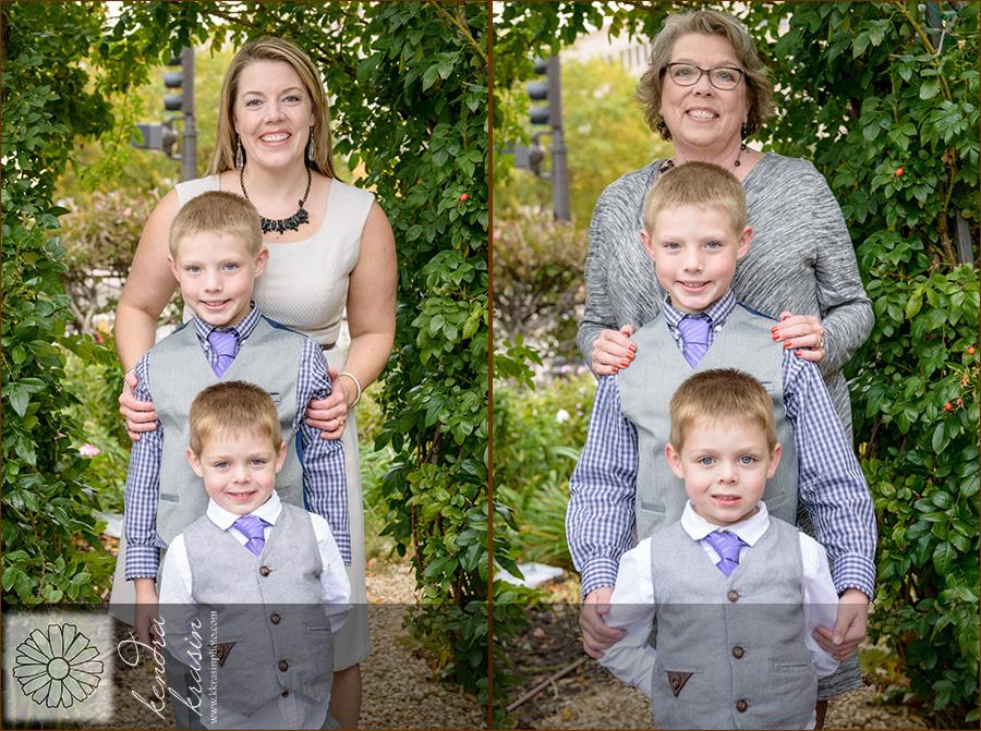 Mom + Grandma + Boys