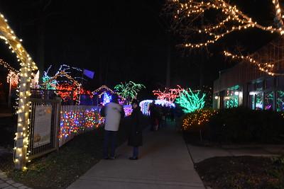 Brookside Gardens Holiday Lights