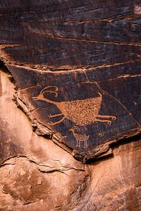 Monument Valley Petroglyphs