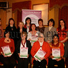 """Newry & Mourne Women LTD, """"Women Celebrating Being A Woman"""" Committee, Teresa Kearney, Colette Ross, Mairead Smyth, Grainne O'Donnell, Tahmina Ay, Margaret Convery, Josephine Crilly, Angela Gray, Emma Mc Parland and Staff members Kathleen Smith, Liz Green and Sharon Hughes (placement), 07W11N57"""