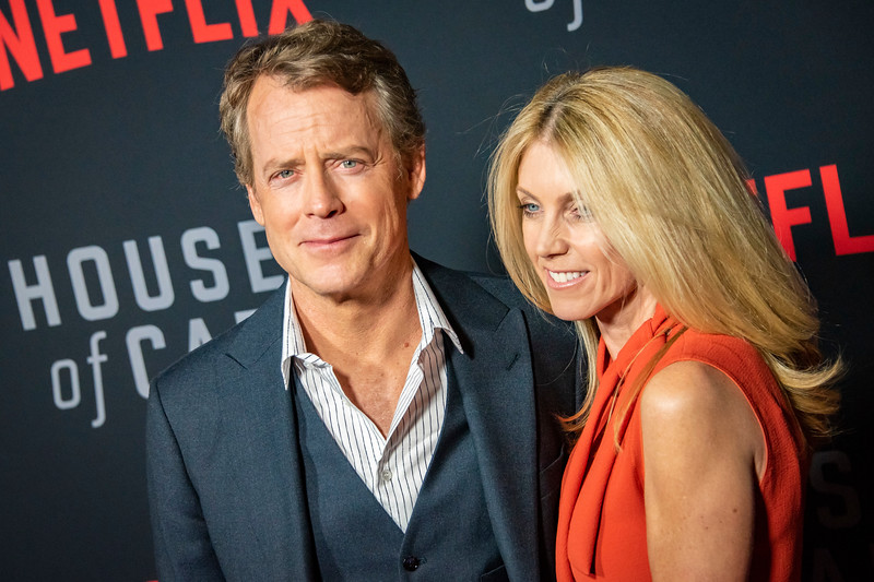 LOS ANGELES, CA - OCTOBER 22: Greg Kinnear and Helen Labdon attend the Los Angeles premiere screening of Netflix's 'House Of Cards' Season 6 held at DGA Theater on Monday October 22, 2018 in Los Angeles, California. (Photo by Tom Sorensen/Moovieboy Pictures)