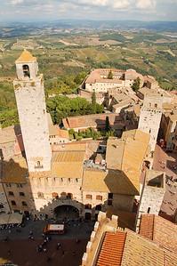 San Gimignano das Manhattan des Mittelalters / San Gimignano the Manhattan of the Middle Ages