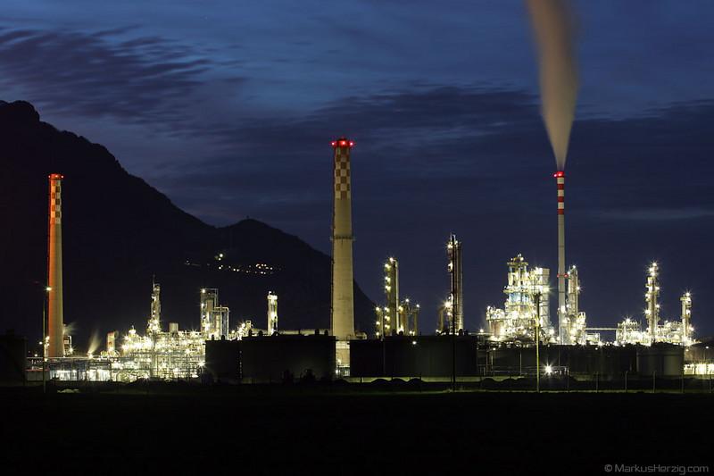 Tamoil refinery @ Collombey Switzerland 4Mar07