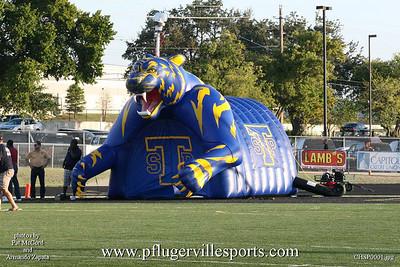 Connally Cougars vs. Stony Point Tigers