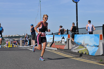 Cardiff Triathlon - Women Sprint Run