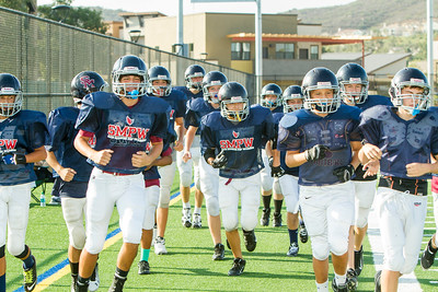 2014 SMPW Knights Practice  in Pads