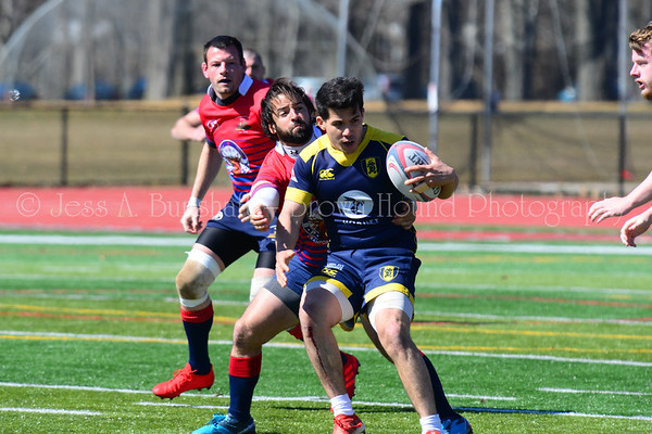 Gotham Knights vs Union County Mud Turtles rugby, March 23, 2019