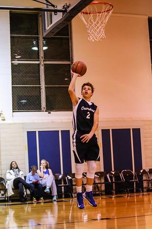 Dec 2 - Basketball - 8th Gr Gold vs SASR
