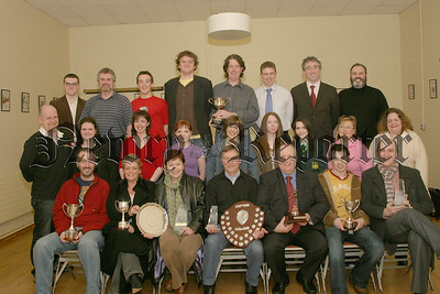 Members of the Newpoint Players who received awards . 06W11N52