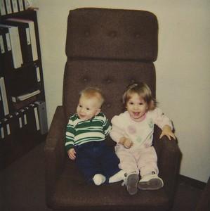 1991 Amanda & Jeremy at Deltak