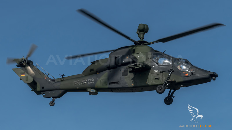 German Army / Airbus Helicopters Tiger / 74+23