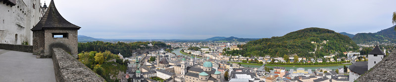 Panorama from Salzburg Castle