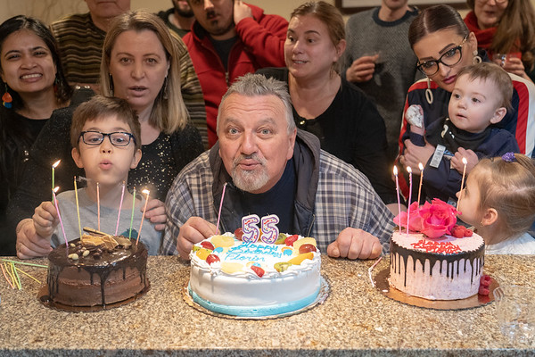 Florin 55th birthday celebration - March, 2019