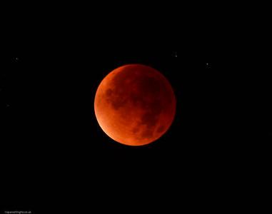 Blood super moon. September 27th 2015