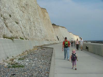 Undercliff Walk from Brighton Marina to East Saltdean