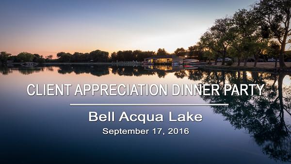 Phillip Todd Client Appreciation Dinner Party