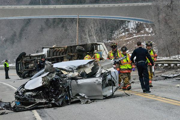 Two vehicle crash on Rt. 30 - 022519