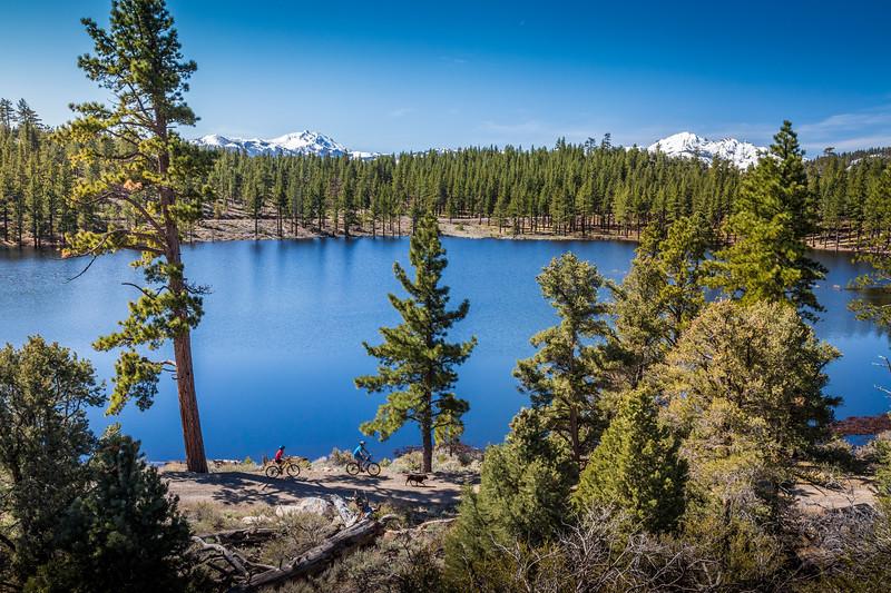 Curtz Lake Mountain Bikers