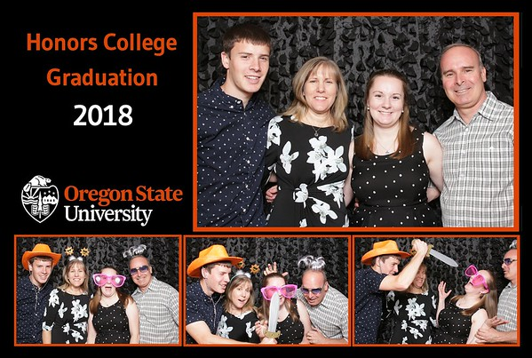 OSU Honors College Graduation 2018