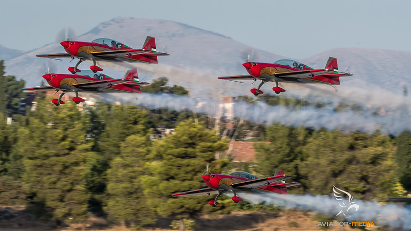 Royal Jordanian Air Force / Extra 330LX / Royal Jordanian Falcons Livery