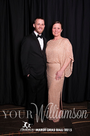 Mardi Gras Ball Souvenir Photos