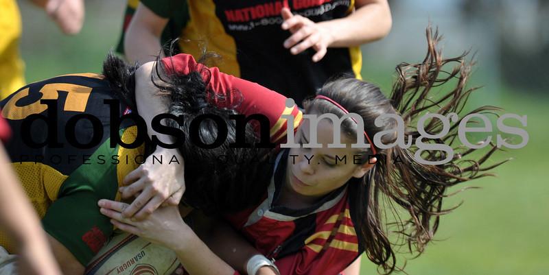 2010 HUMBOLDT WOMENS RUGBY  VS SANTA CLARA
