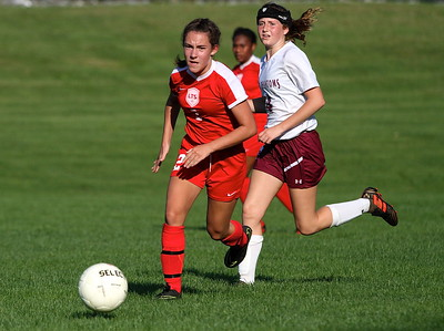 LTS Girls Varsity Soccer vs Proctor photos by Gary Baker