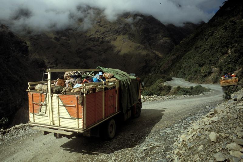 Las Yungas, Bolivia / © Rob Tani, 1988