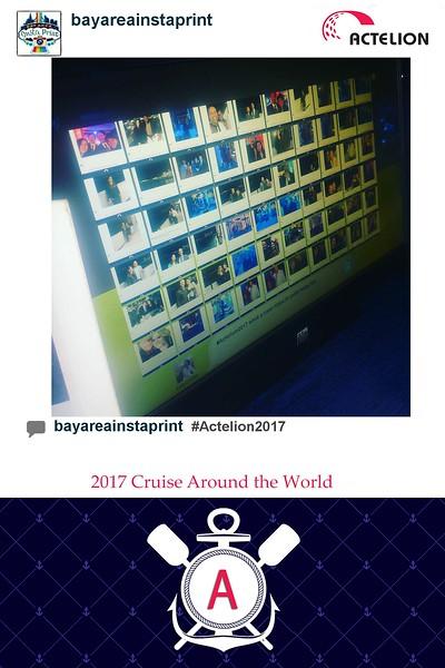 Actelion 2017 Instaprint Station