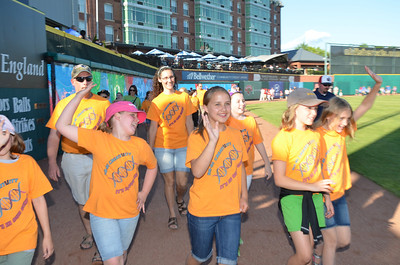 Team NH Welcomed by FisherCats