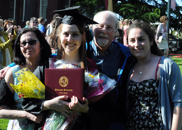 Charlotte's Willamette Graduation