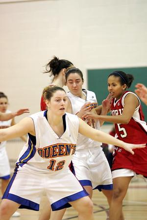 Women's Basketball - Queen's at York 20050122