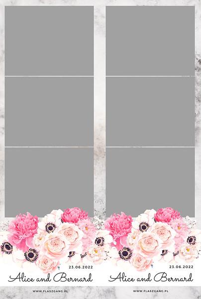 Anemones and peony strips 6x4 photo print .jpg