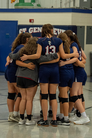 2019 SGS vs ESA Volleyball (8th grade)