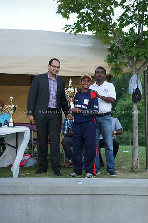 Markham Cricket Acadmy Award Cermony 29 Aug 2014