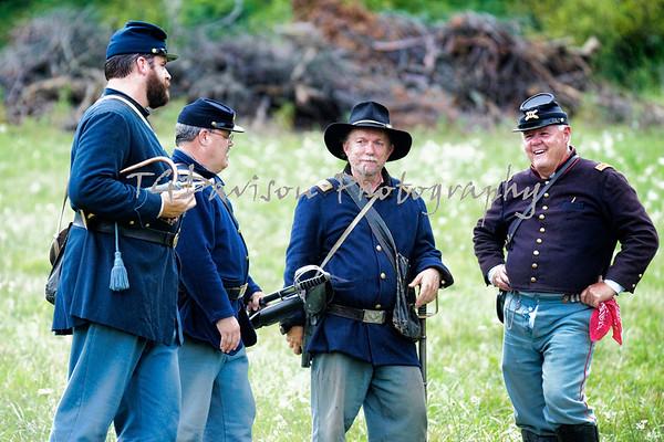Hale Farm and Village Civil War Days  Sunday Battle 2019