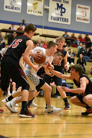 Iowa-Grant @ Mineral Point Boys Basketball 1-5-19