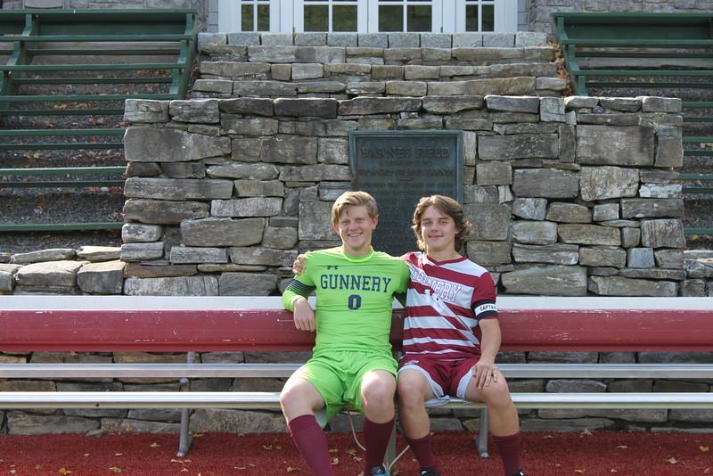 Boys Varsity Soccer Seniors