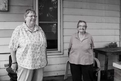 Myrna Magby bday party Carolyn Goode, farm Sept 12, 2015