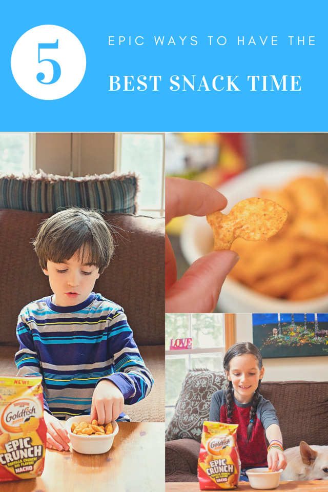 Snack time is an important time of day. It's our time of day to reconnect & unwind. That's why I am sharing 5 ways to make that time EPIC! #ad #EpicCrunch